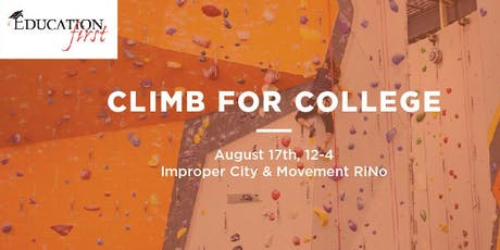 Climb for College tickets