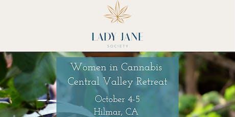 Women in Cannabis Central Valley Retreat tickets