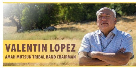 Saving Juristac: Tribal Chair Valentin Lopez Speaks tickets