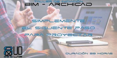 Archicad BIM training entradas