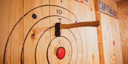 Improving Third Tuesday AXE THROWING