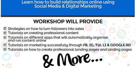 Stuck on Social Media?  Join us 9/14  for a Digital Marketing Affair tickets