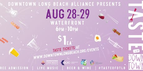 Taste of Downtown: Waterfront tickets