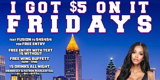 Karaoke $$$ Fridays (FREE ENTRY w/RSVP) @ FUSION Sports Lounge • For ViP Tables, Call 404.576.8471