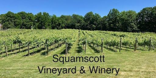 Slow Wine and Cheese @ Squamscott Vineyard & Winery