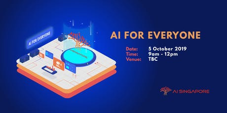 AI for Everyone (5 October 2019) tickets