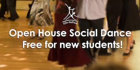 Open House Social Dance @ Elite Ballroom tickets