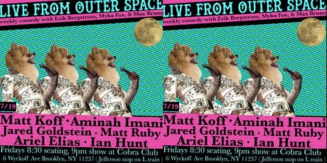 Live From Outer Space Comedy Show tickets