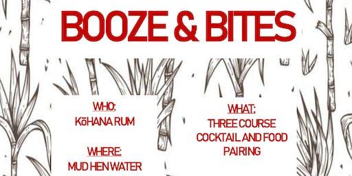 Booze & Bites - Kō Hana Rum