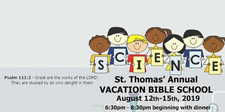 Vacation Bible School: Science Camp tickets