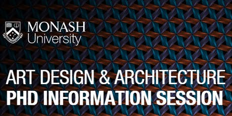 Art Design and Architecture PhD Information Session tickets