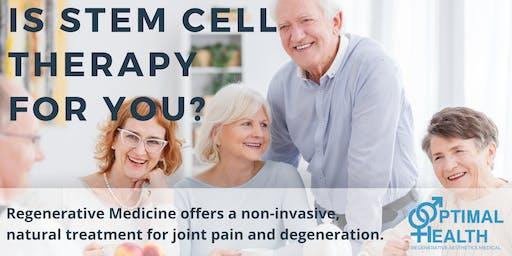 Free Stem Cell Seminar and Dinner