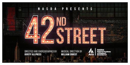 "NASDA presents ""42ND STREET"""