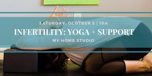 Infertility: Yoga + Support