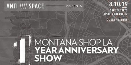 MTN Shop LA 1 year anniversary  tickets
