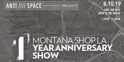 MTN Shop LA 1 year anniversary
