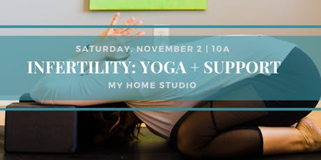 Infertility: Yoga + Support tickets