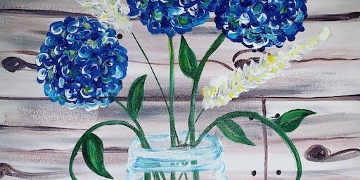 Beautiful Blooms Paint Class
