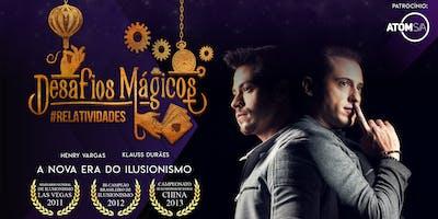Show Desafios Mágicos: Relatividades