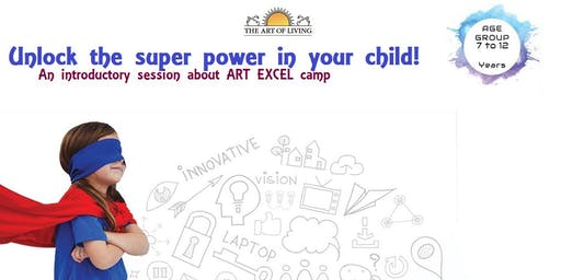 PARENT & KID Event: Unlock the superpower in your child