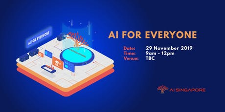 AI for Everyone (29 November 2019) tickets