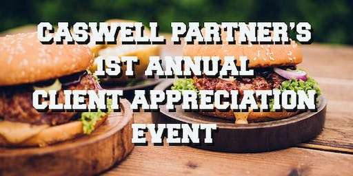 Caswell Partners 1st Annual Client Appreciation Event