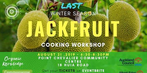 Jackfruit Workshop at Pt. Chev Community Centre