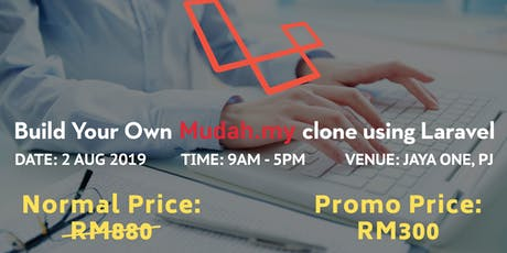 Build Your Own Mudah.my Clone using Laravel tickets