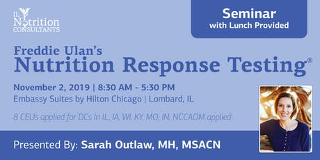 Nutrition Response Testing®  (Chicagoland) tickets