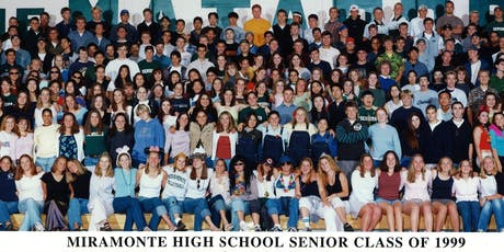 Miramonte High School Class of 1999 20 Year Reunion tickets