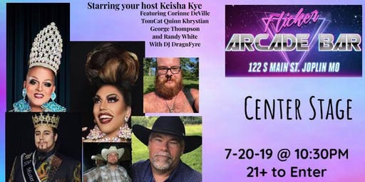 Center Stage Drag Show