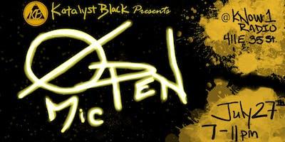 Katalyst Black Presents - Open Mic