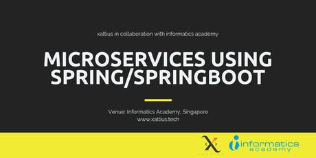 Microservices Using Spring/SpringBoot tickets