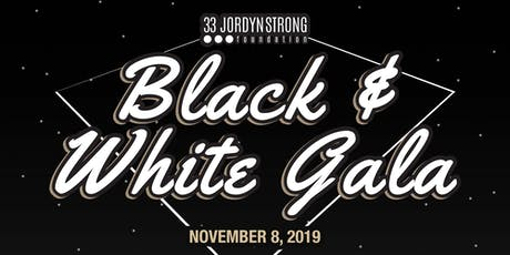 33 JordynStrong Foundation Black & White Gala tickets