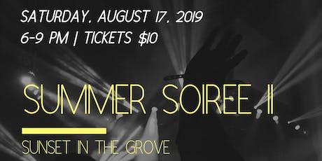 Summer Soiree II tickets