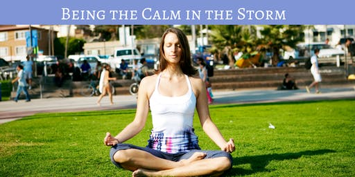Radiant Women's Circle: Being The Calm in The Storm