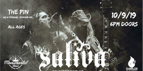 SALIVA tickets