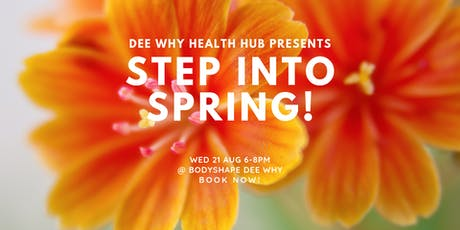 Dee Why Health Hub - Step Into Spring tickets