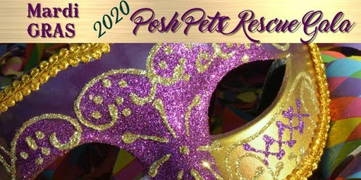 Posh Pets Rescue Gala 2020