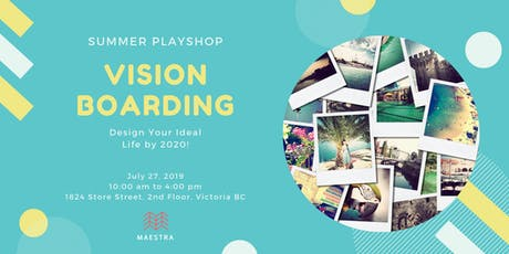 Vision Boarding: Design Your Ideal Life tickets