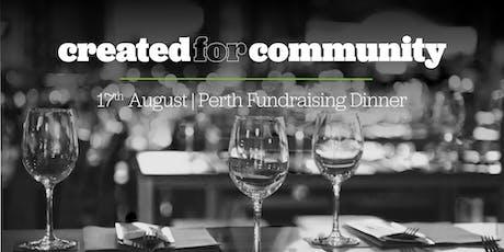 CAP   Perth Fundraising Dinner 2019 tickets