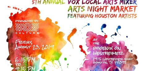 Vox Local Arts Mixer V (V+LAM 5) tickets