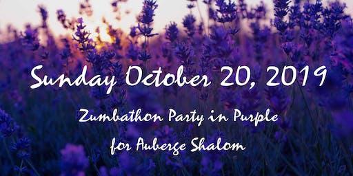 Zumbathon en Violet pour Auberge Shalom: 3ieme edition