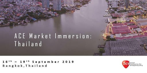 ACE Market Immersion: Thailand (Registration of Interest)