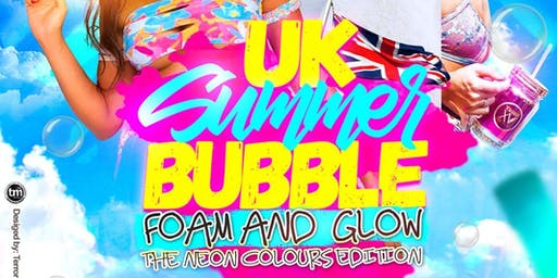 UK SUMMER BUBBLE - The Neon Colours Edition