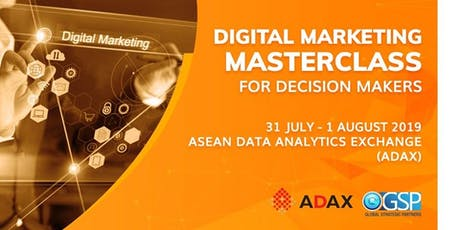 2-Day Digital Marketing Masterclass for Decision Makers tickets