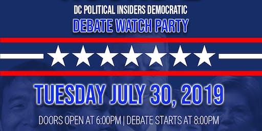 D.C. Political Insiders Debate Watch Party
