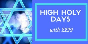 2239 Reform High Holiday Services
