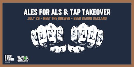 Ales for ALS - Meet the Brewer & Tap Takeover tickets
