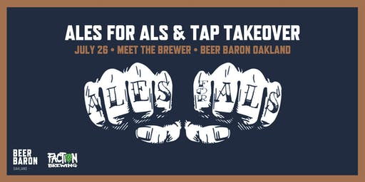 Ales for ALS - Meet the Brewer & Tap Takeover